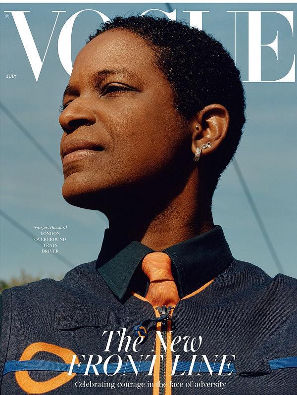 Hétköznapi hősök a júliusi brit Vogue címlapján - ujdonsagok -