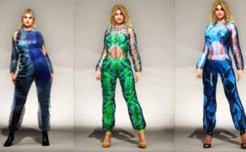 """""""Immortal"""" Malan Breton S/S 2021 Virtual Fantasy by DNABLOCK - london_fashion_week, fashion -"""