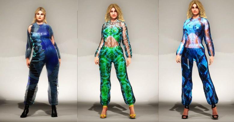 """Immortal"" Malan Breton S/S 2021 Virtual Fantasy by DNABLOCK - fashion -"