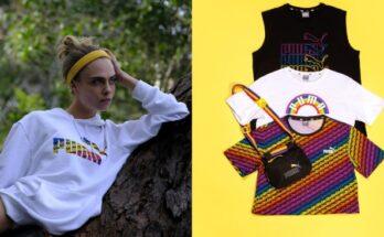 From Puma with Love- új pride kollekció Cara Delevigne-nel - tavaszi-es-nyari-divat, ujdonsagok -
