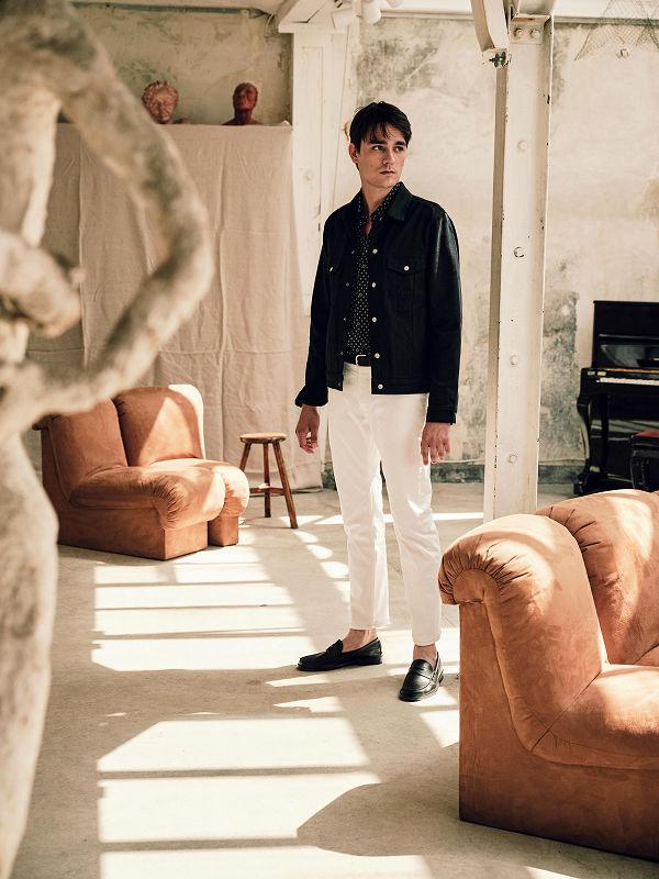Son of Alain Delon starring in new the Mango Man campaign - fashion, campaign -