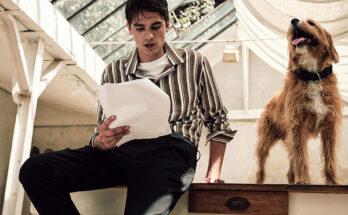 Son of Alain Delon starring in new the Mango Man campaign - uncategorized-en, fashion -