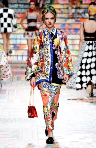 Dolce & Gabbana 2021 tavasz/nyár - Szicíla dícsérete - tavaszi-es-nyari-divat, fashion-week -