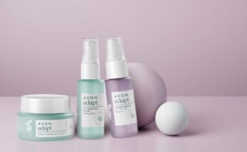 The new Adapt beauty collection from Avon encourages perimenopausal and menopausal women - beauty-en -