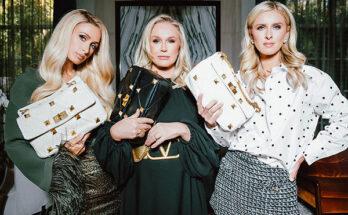 A sosem öregedő Hilton lányok lettek Valentino modelljei - kiegeszitok-2, ujdonsagok -