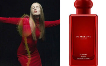 Érkezik Jo Malone London új illata a Jo Malone Scarlet Poppy Cologne Intense - parfum-2 -