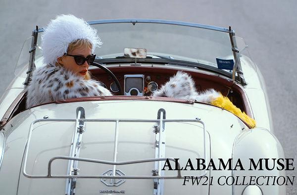 Alabama Muse FW 2021-11 MFW  - Unconventional animal friendly fur meets Lynch and Tarantino - milan-fashion-week-en, fashion-week-en -