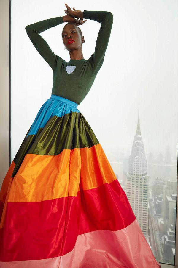 Carolina Herrera 2021 ősz-tél - Hóesés New Yorkban - oszi-es-teli-divat, ujdonsagok -
