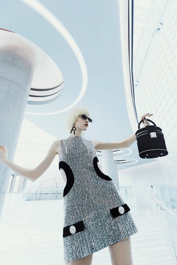 Raisavanessa ősz-tél 2021 NYFW - Vissza a jövőbe - fashion-week -