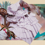 Ulla Johnson 2021 Spring Summer campaign inspired by origami