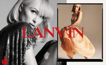 Paris Hilton nagyszerűen néz ki a Lanvin kampányában - ujdonsagok -