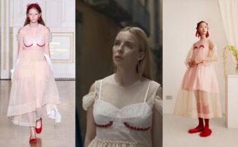 Villanelle egyik ruhájának változata a H&M X Simone Rocha kollekcióban - ujdonsagok -
