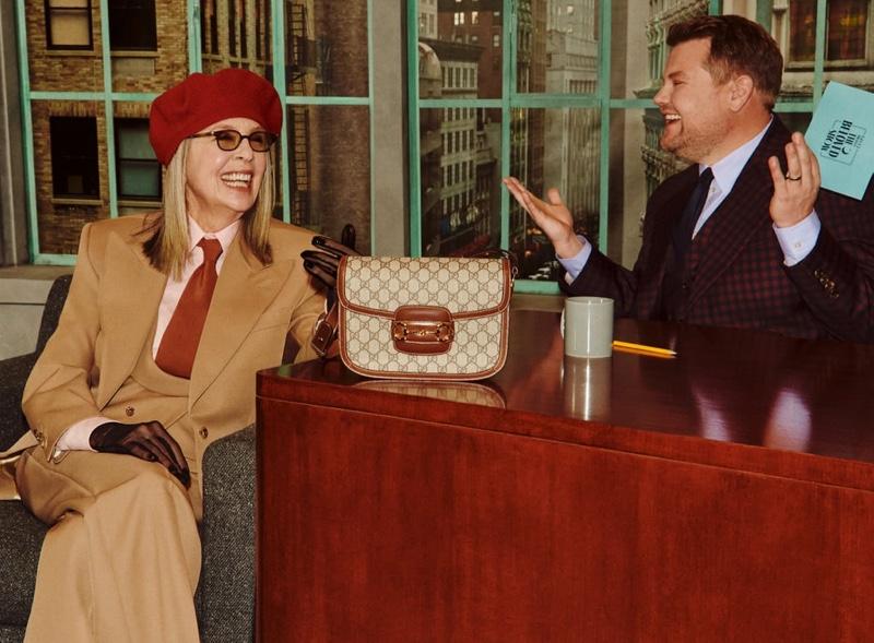 Zseniális táska kampányt készített a Gucci James Corden-nel és híres márkanagyköveteivel - taska-2, ujdonsagok -