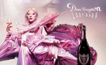 Lady Gaga különlegesen szép kampányt készített a Dom Perignon-nal - ujdonsagok -