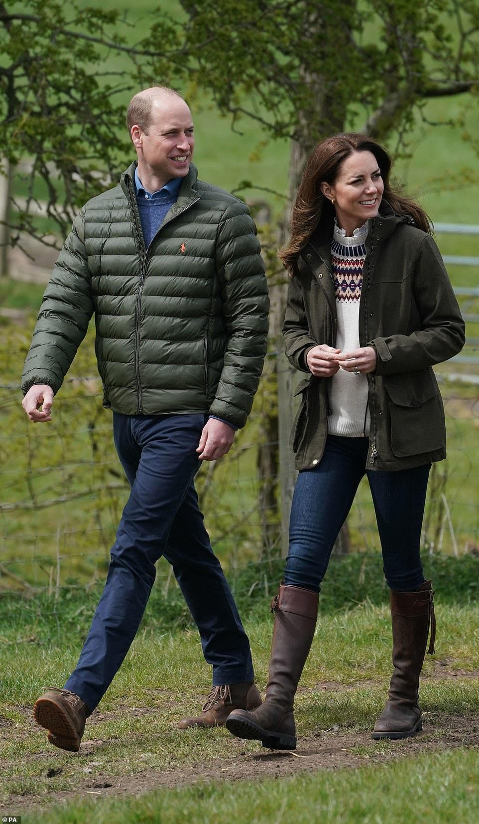 Duchess of Cambridge wears Penelope Chilvers boots - footwear, fashion -