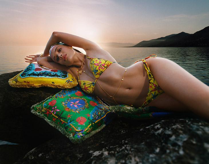 La Vacanza Mini 2021- Versace beachwear kollekciója - furdoruha-2, ujdonsagok -